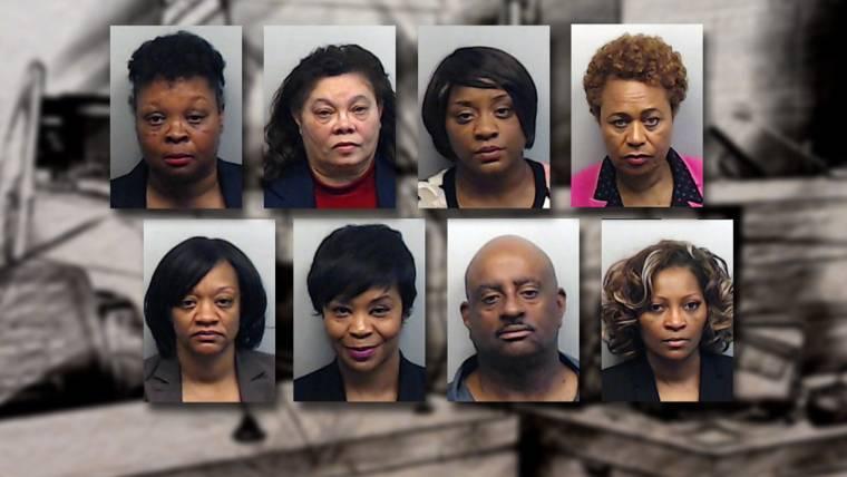 Cheating Case In Atlanta : Atlanta cheating scandal three ex educators sentenced to seven years