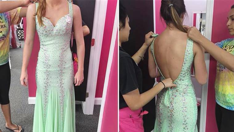 Prom Dress Before After