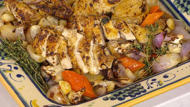 Turn beer into a meal with Al Roker's one-pot beer can chicken with vegetables