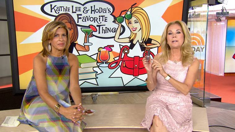 KLG and Hoda\'s favorite things: Taupe nail polish, tomatoes