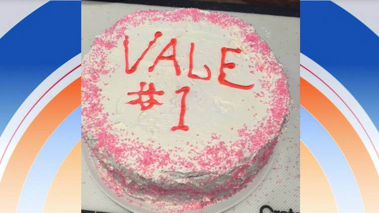 Vale Visits Today On Her 1st Birthday Check Out Her Homemade Cake