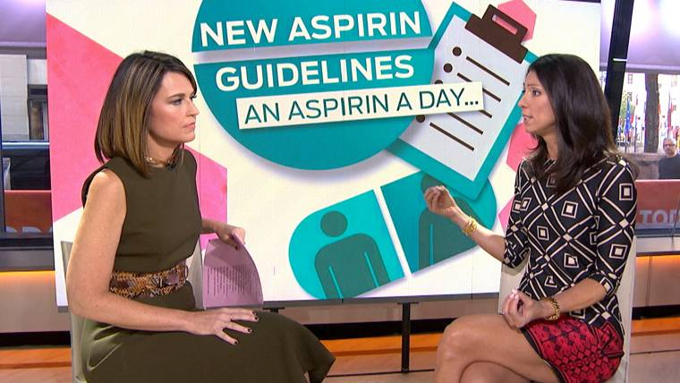 New Recommendations Say More Americans Should Take Aspirin