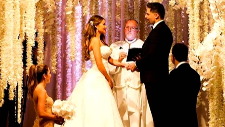 Sofia Vergara Wedding.Sofia Vergara And Joe Manganiello Marry In Palm Beach Wedding