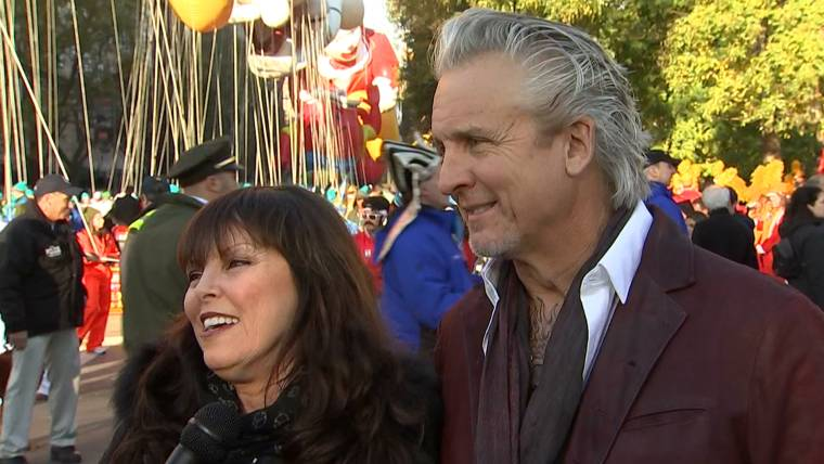 Pat benatar and neil giraldo celebrate thanksgiving day parade music m4hsunfo