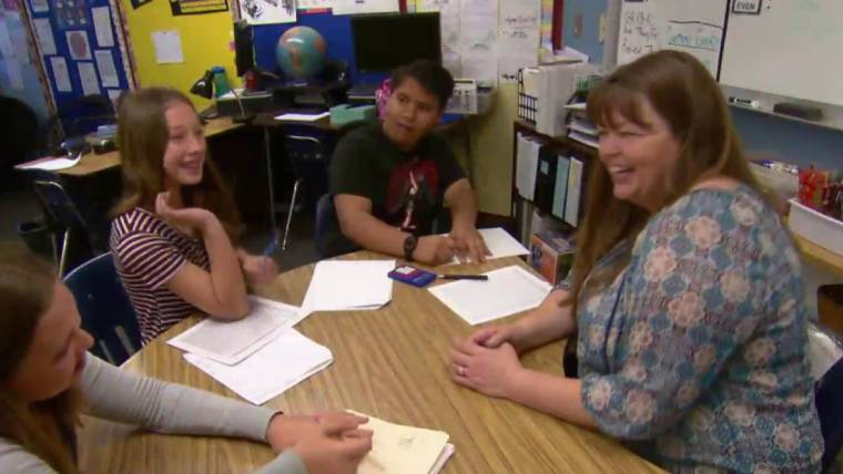 Watch this mom and special ed teacher sweetly honored for Mother's Day