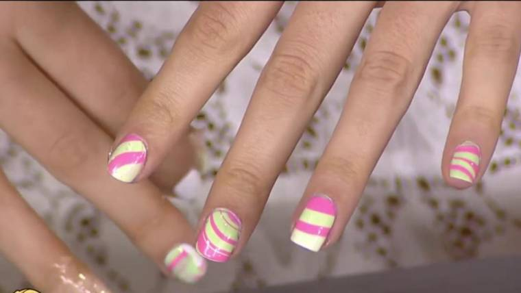 Nail Art Trends Negative Space Watercolor Spirals And More