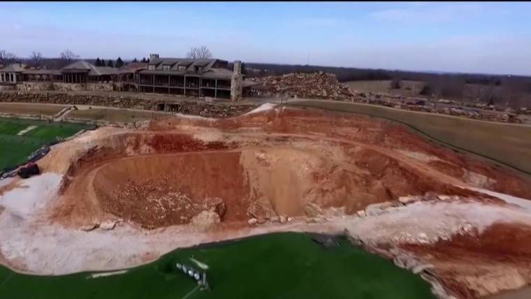 Sinkhole On Missouri Golf Course Uncovers Amazing Underworld - Table rock lake golf course