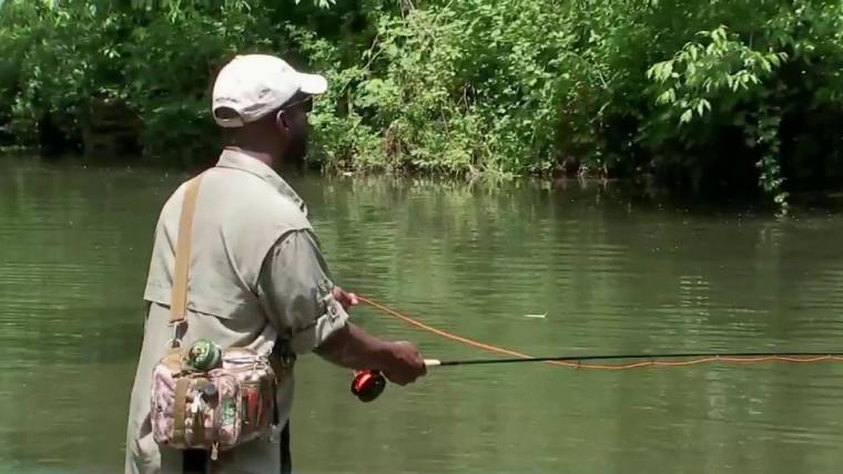Wounded Veterans Find Peace Through Serenity of Fly Fishing