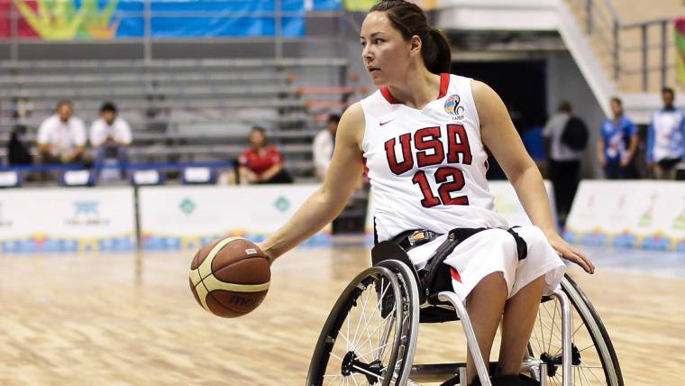 Remarkable Gold Medalist Alana Nichols Makes Something Beautiful Out Download Free Architecture Designs Itiscsunscenecom