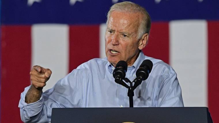 Biden, stumping for Clinton, trashes Trump - The Express