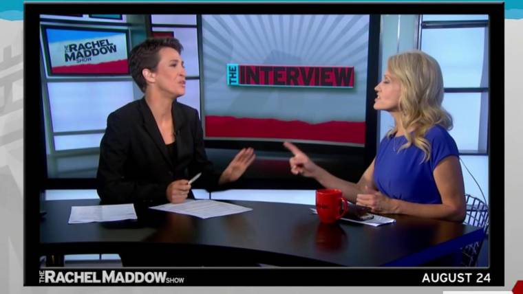 did trump s campaign manager lie to rachel maddow s face