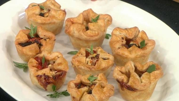 Martha Stewart makes seasonal veggie appetizers for fall