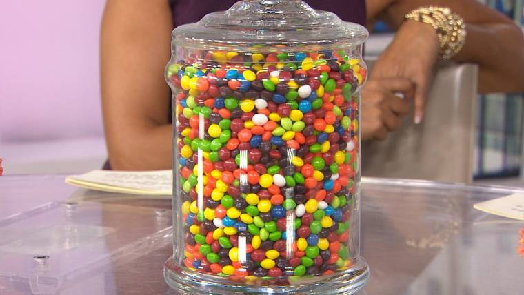 Can You Guess How Many Skittles Are In This Jar