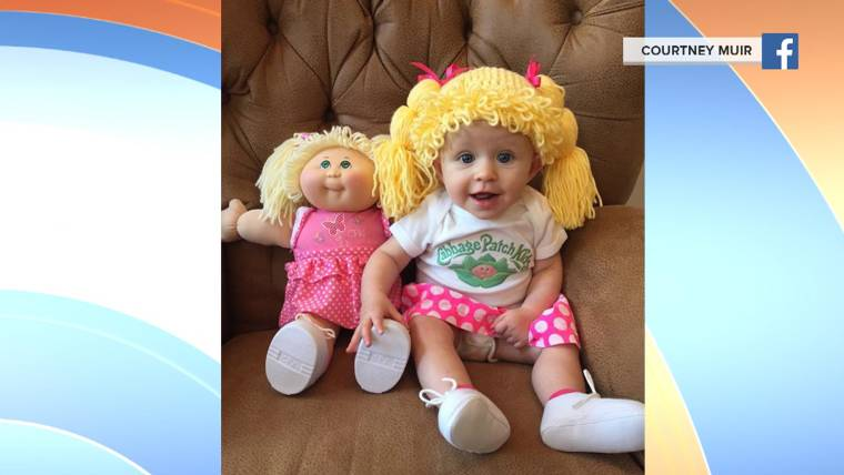 a82d7477c Need a Halloween idea for your child? How about a real-life Cabbage Patch  Kid?