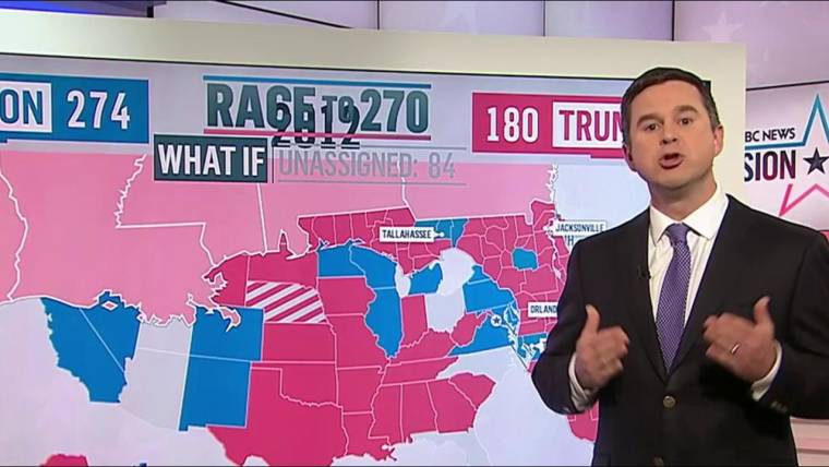 Electoral College Map: Potential Paths to Victory for Clinton and Trump