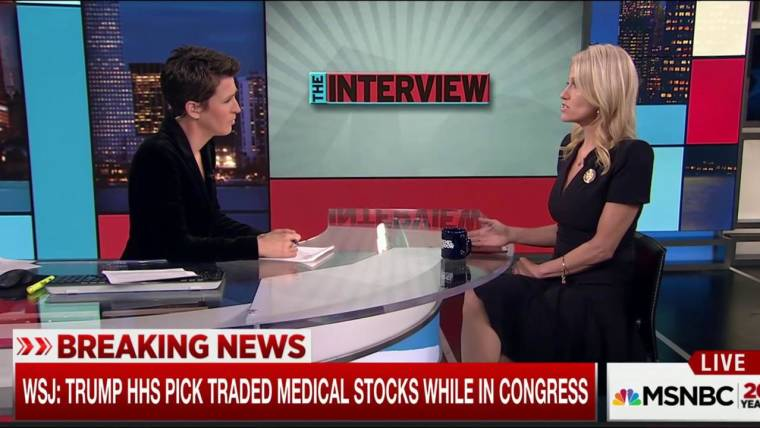 ethics questions loom over trump hhs pick rep tom price