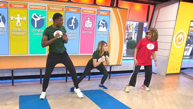 #startTODAY: Follow Jenna Bush Hager's fitness plan