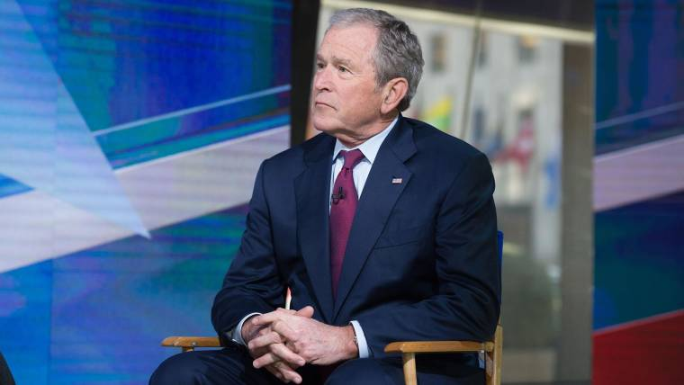 George W. Bush opens up on Trump\'s war with the media, travel ban ...