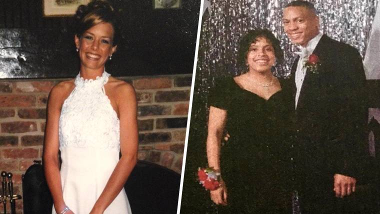 The hottest trend for prom? Wearing mom\'s old dress