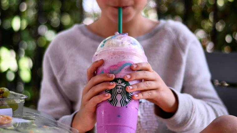 Starbucks Dragon Frappuccino Has Arrived
