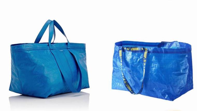 658906a48 $2,145 Balenciaga bag looks just like Ikea's iconic 99-cent shopping bag