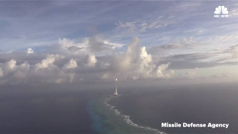 Pentagon Video Shows Moment Missile Destroys Target Over Pacific