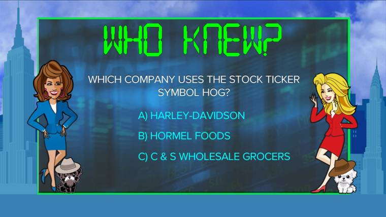 Which Company Uses The Stock Exchange Symbol Hog