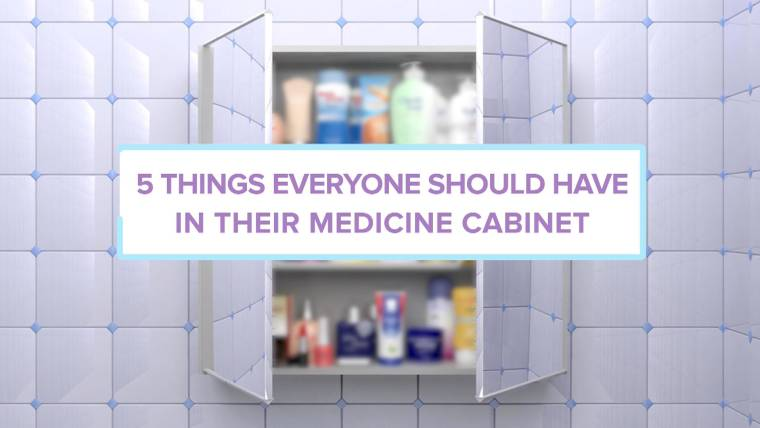 Ask A Doctor: What Should Everyone Have In Their Medicine Cabinets?