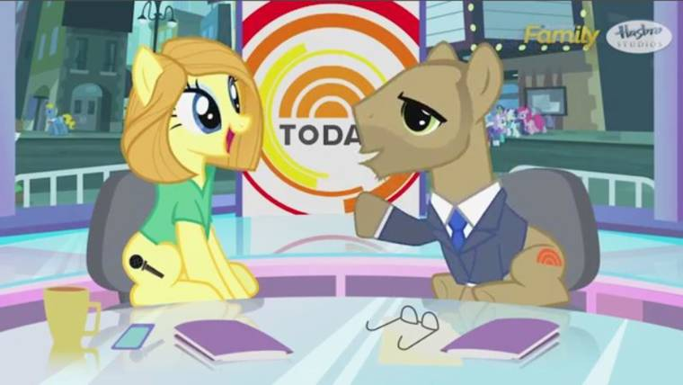 watch today s matt and savannah reimagined as my little pony