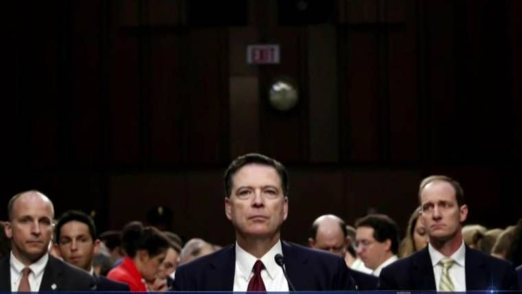 Comey: White House Lied 'Plain and Simple' About Firing