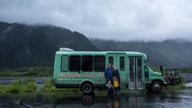 Meet This Family Of 4 That Lives On A Bus