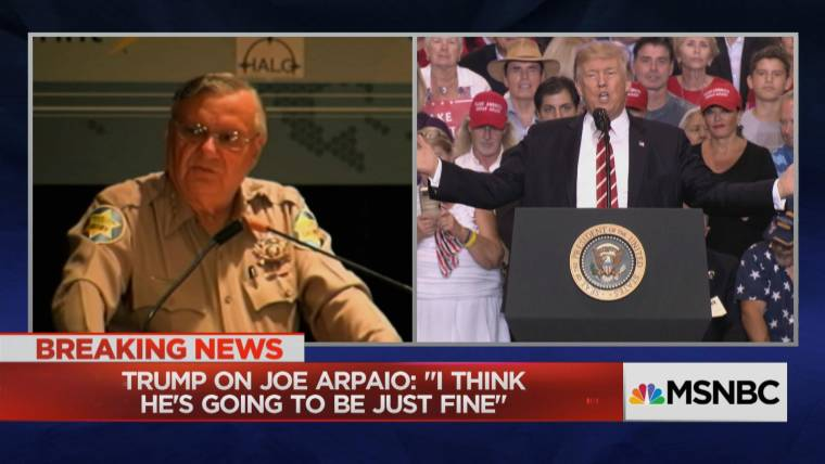 Image result for trump arpaio