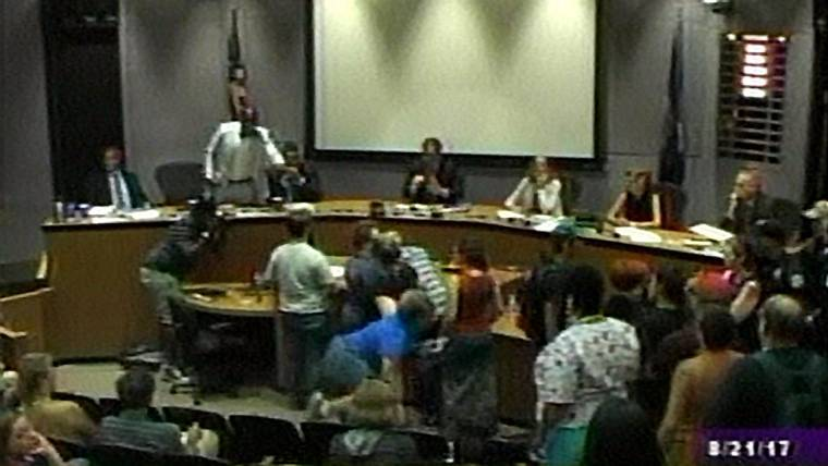 Charlottesville City Council Meeting Chaos