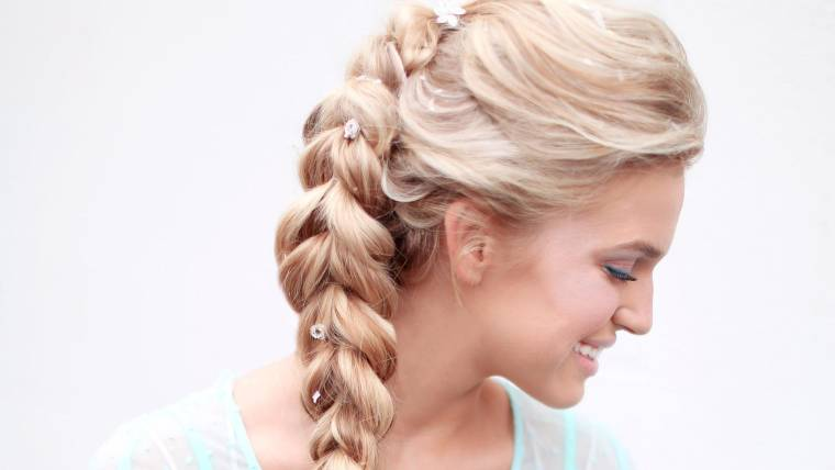 Easy Diy Halloween Hairstyles Elsa To Game Of Thrones