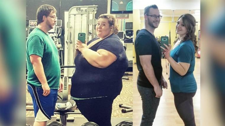 Couple loses 407 pounds in 3 years after New Year's resolution