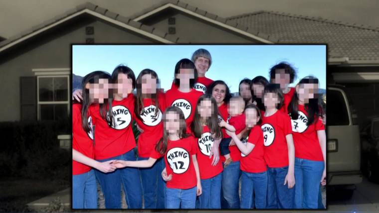 California Torture House 13 Siblings Allowed To Eat Once A Day