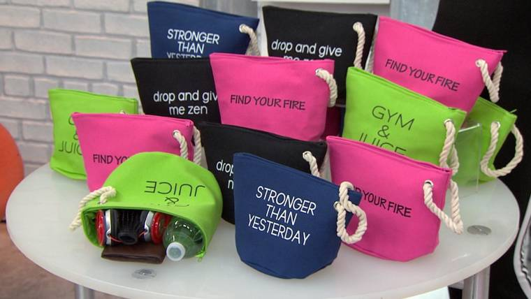 start today deal of the day 50 percent off workout accessory pouches