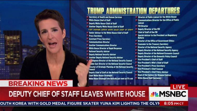 White House in job turnover turmoil as more staffers depart