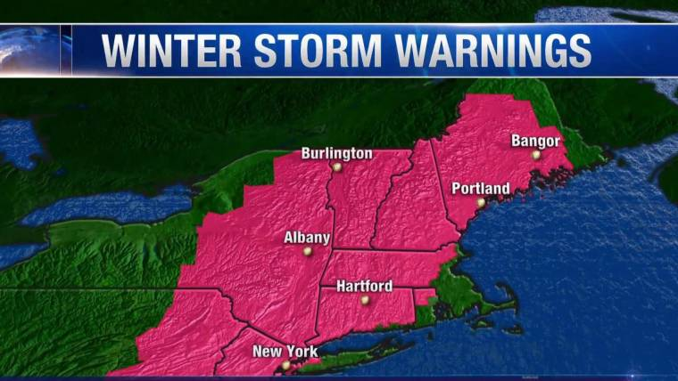 Winter Storm Warning: Another Nor'easter Heads For East Coast, But No One Knows