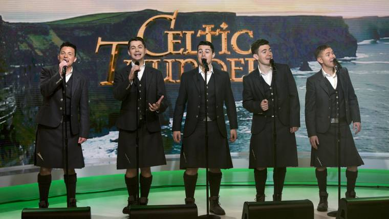 Watch celtic thunder perform toora loora lay live on today news m4hsunfo