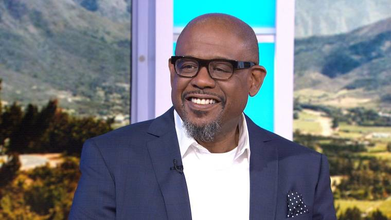 images of ken and forest whitaker