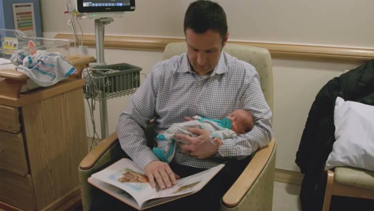 Books in Pittsburgh NICU help families and preemies bond