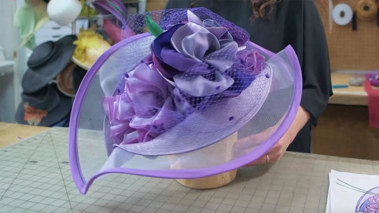 9c1e6dfc See how a custom Kentucky Derby hat is made from start to finish