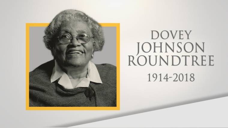 d7a522dfbf Life well lived: Civil rights attorney Dovey Johnson Roundtree dies at 104
