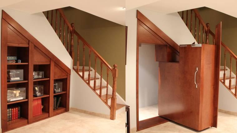 Creative home engineering builds secret doors and passageways - Creative home engineering ...