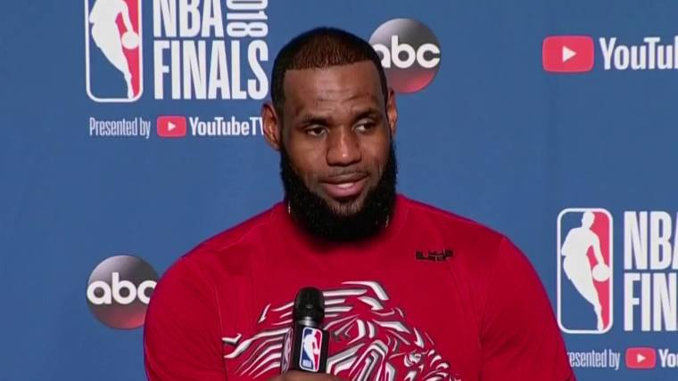 a63e8a8cab67 LeBron James  No one in the NBA Finals wants a White House invite
