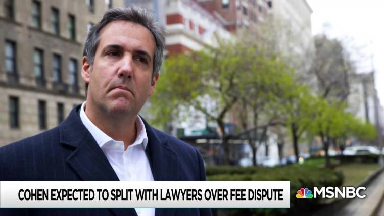 Trump turns his back on Michael Cohen at crucial point in case