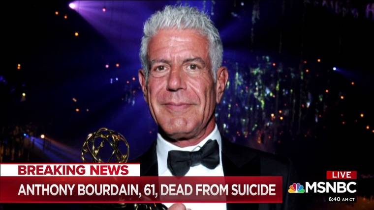 chef and tv host anthony bourdain dies at 61