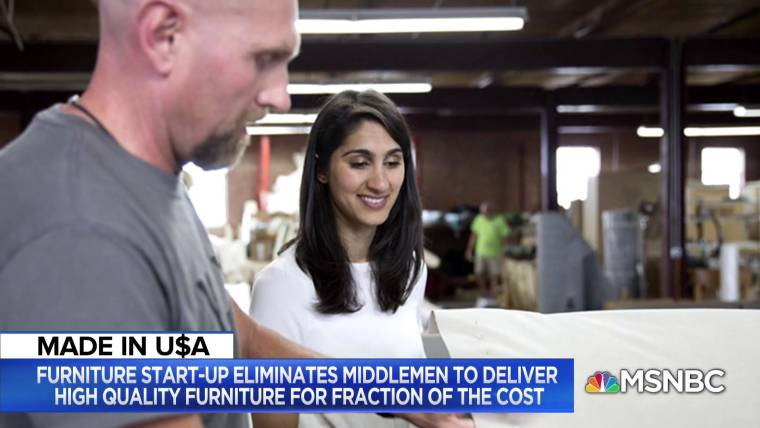 This CEO's furniture company is disrupting the industry