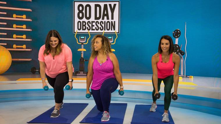 80-Day Obsession workout: 10 exercises from the program